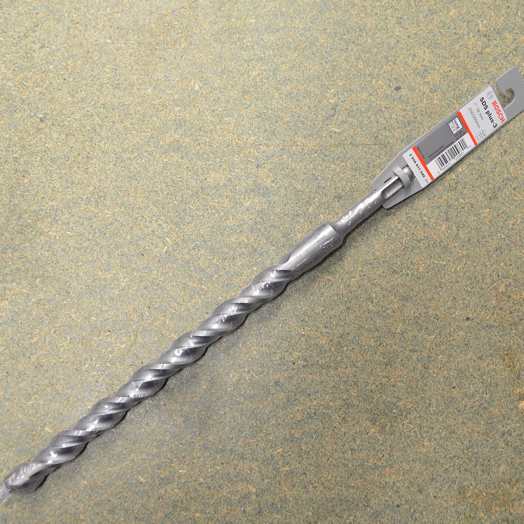 18mm Sds Plus 3 Masonry Long Life Drill Bits Sky Blue