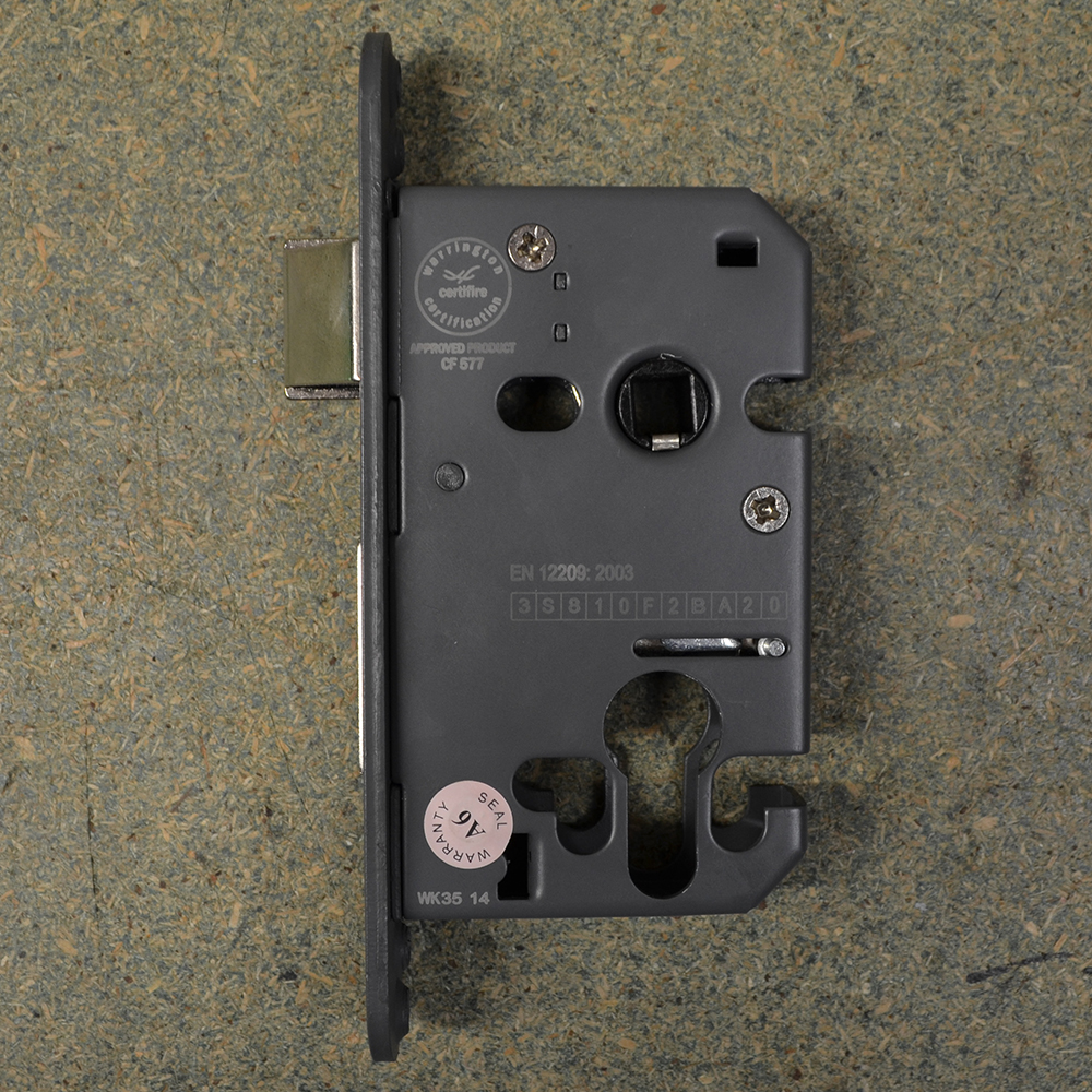 Arrone Euro Mortice Sashlock Case 76mm Sky Blue Fixings