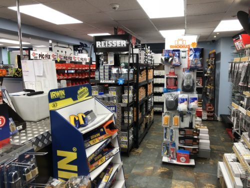hardware store shop floor