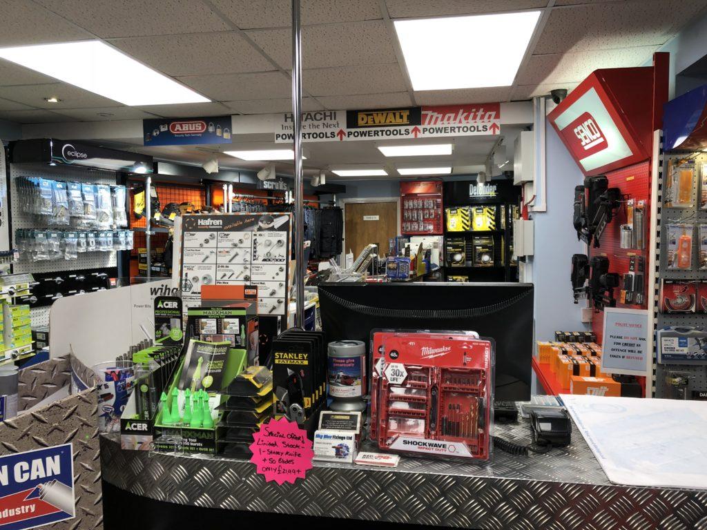 tool trade counter